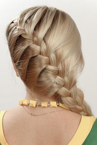 техника плетения корзинки из волос фото. как плести на коротхих волос.